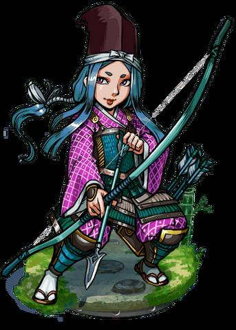 File:Tomoe, True-Arm Archer II Figure.png