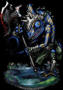 Lizardman Ambusher Figure