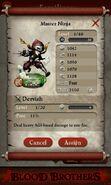 Master Ninja (evolved from 3 level 1 Battle Ninjas)