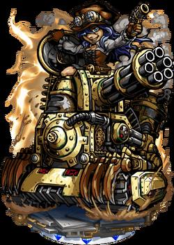 Rovn, the Brass Panzer Figure