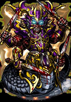 Takshaka, Serpent King II Figure