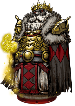 Midas, the Golden King Figure