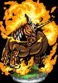 Bayard, Infernal Steed Figure