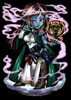 Brangane, the Enchanting Figure