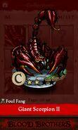 Giant Scorpion II (collection)