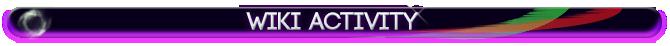 Wiki Acitivity