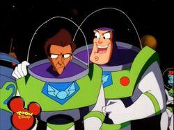 Buzz annoying Ty.
