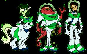 Ranger character designs