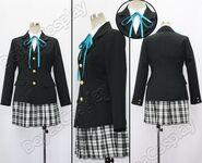 K-On-Sakuragaoka-High-School-Uniform-Comics-Ver-Cosplay-Costume-Free-Shipping