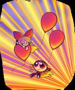 Brick and blossom balloons by jksketchy-d4wadmg