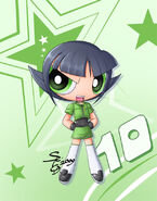 Fusionfall Buttercup 1 by Seiryuga