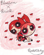 BlossomxBrick by Pinkstitchy