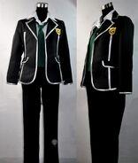 Guilty Crown OUMA SHU School Uniform Cosplay Costume