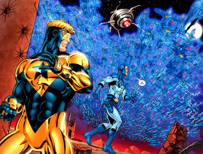 File:Booster Gold and Blue Beetle Ted Kord-1.jpg