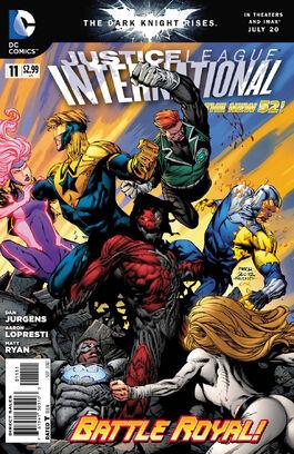 Justice League International Vol 3-11 Cover-1