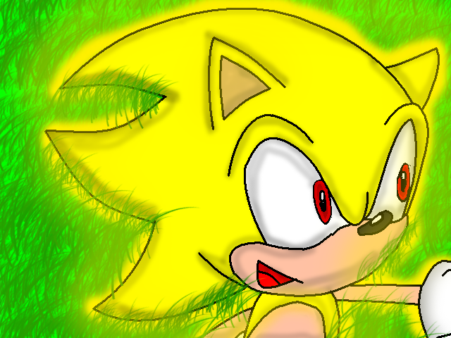 File:Super Sonic laying in grass.png