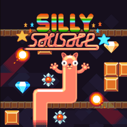 Silly Sausage Title Screen