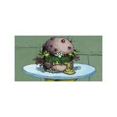 Cagreburger inmunda para el Inspector de Sanidad, afortunadamente el inspector no lo comió