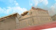 Destroyed school