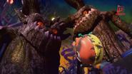 Hantu pokok bertemu dengan Adu Du