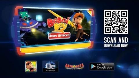 BoBoiBoy AduDu Attacks Game Trailer