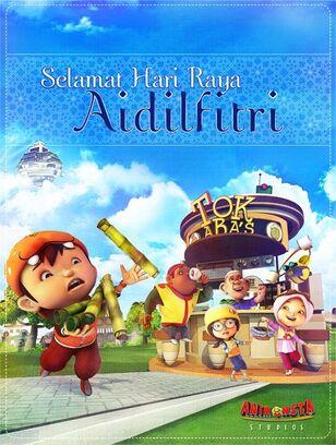 BoBoiBoy Selemat Hari Raya