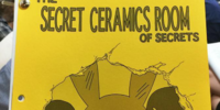 The Secret Ceramics Room of Secrets