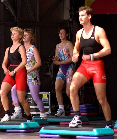 File:Aerobic exercise - public demonstration07.jpg