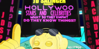 Hollywoo Stars and Celebrities: What Do They Know? Do They Know Things?? Let's Find Out!