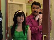 Dolly and Avtaar greeting Ritesh