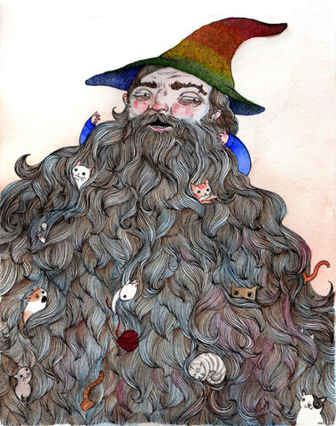 File:Gnome with goats.jpg