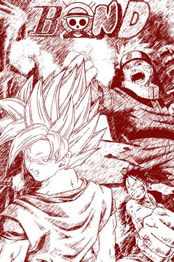 BOND Manga Style Cover