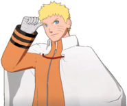 Hokage Naruto Crossover Render