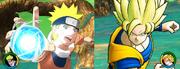 Naruto vs Goku Rasengan