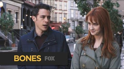 """BONES The Moment from """"The Last Shot at a Second Chance"""" FOX BROADCASTING"""
