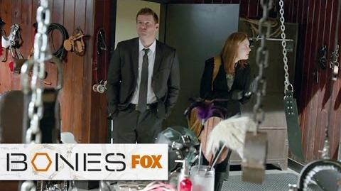 Booth and Brennan in the Love Dungeon BONES FOX BROADCASTING