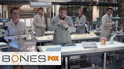 "Squinterns to the Rescue from ""Woman In White (Wedding)"" BONES FOX BROADCASTING-1"