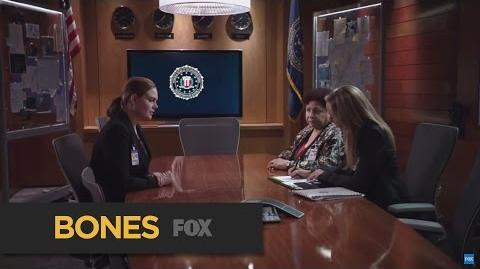 """BONES Careful What You Say Next from """"The Loyalty in the Lie"""" FOX BROADCASTING"""