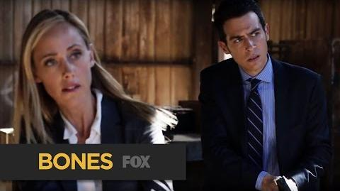 "BONES Battery Acid from ""The Brother in the Basement"" FOX BROADCASTING"