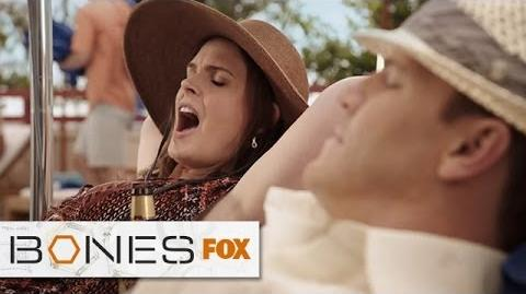 """Relaxing Makes Me Tense from """"The Nazi On The Honeymoon"""" BONES FOX BROADCASTING"""