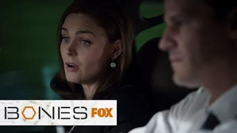 """Brennan's Idea Of Relaxation from """"Fury In The Jury"""" BONES FOX BROADCASTING"""