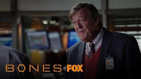 Booth Enlists Dr. Gordon Wyatt's Help Season 12 Ep. 9 BONES