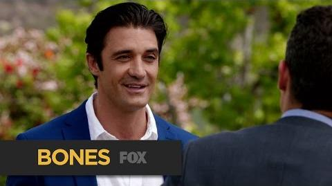 """BONES A Futile Attempt from """"The Jewel in the Crown"""" FOX BROADCASTING"""