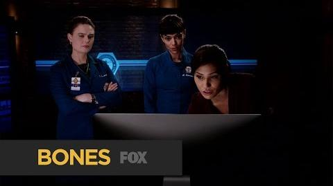 """BONES Imbeciles from """"The Head in the Abutment"""" FOX BROADCASTING"""