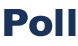 Pollbanner