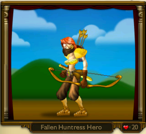 Fallen Huntress Hero