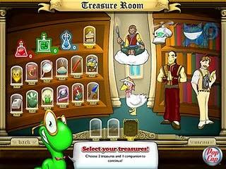 Bookworm treasure room