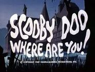 Scooby Doo Where Are You!