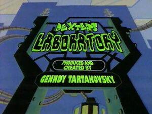Dexter's Laboratory Title Card