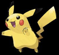 Pokémon Pikachu art